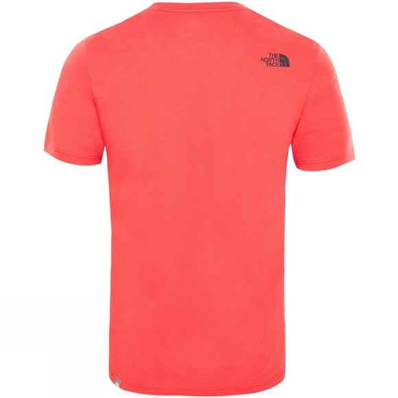 The North Face Men's Short Sleeve Easy Tee Salsa Red