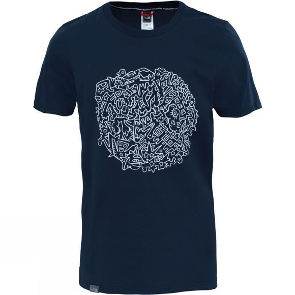The North Face Mens Short Sleeve NSE Series Tee Urban Navy