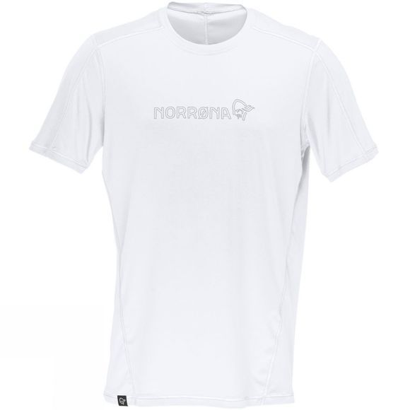 Norrona Men's /29 Tech T-shirt White/ Ash