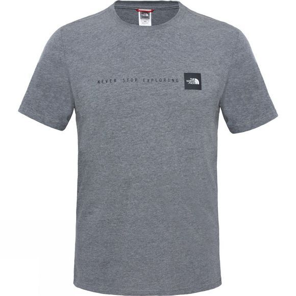 The North Face SS NSE Tee TNF Medium Grey Heather
