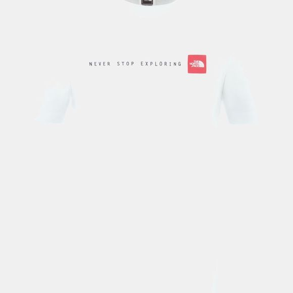 The North Face SS NSE Tee TNF White/TNF Red