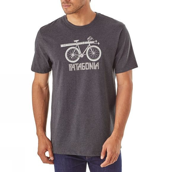 Mens Snow Cycle Cotton/Poly Responsibili-Tee®