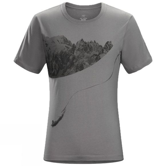Arc'teryx Mens Journey Down Short Sleeve T-Shirt Maverick