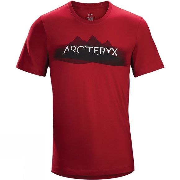 Arc'teryx Mens Remote Short Sleeve T-Shirt Red beach