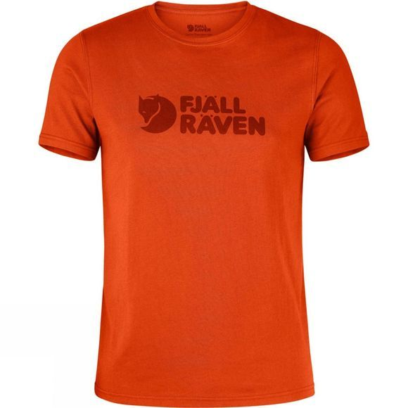 Fjallraven Mens Logo T-shirt FLAME ORANGE