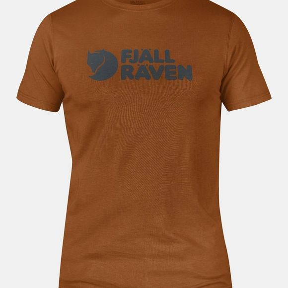 Fjallraven Mens Logo T-shirt Autumn Leaf
