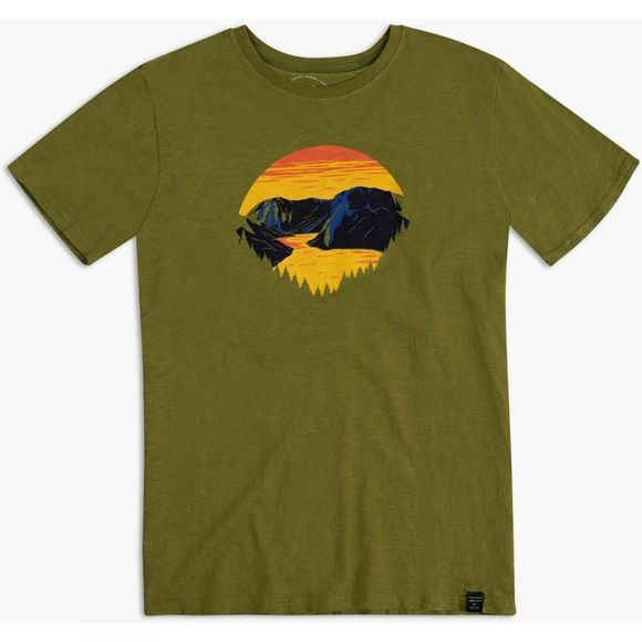 United By Blue Men's Park Layers T-Shirt Olive