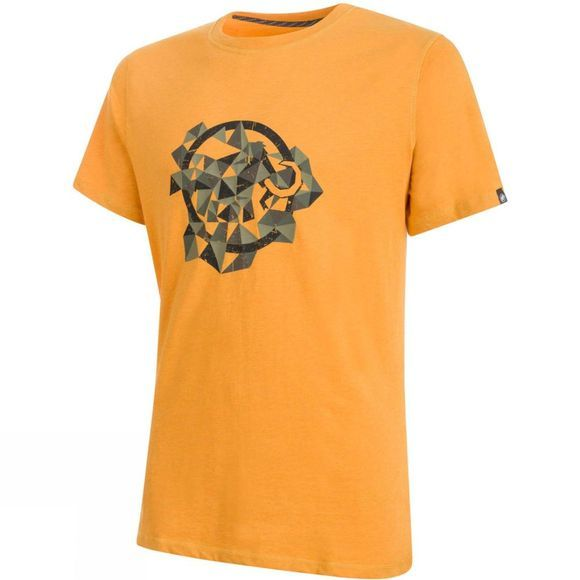 Mammut Mens Go Far T-Shirt Dark Radiant Melange/Iguana