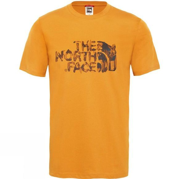 The North Face Mens Short Sleeve Flash T-Shirt Citrine Yellow
