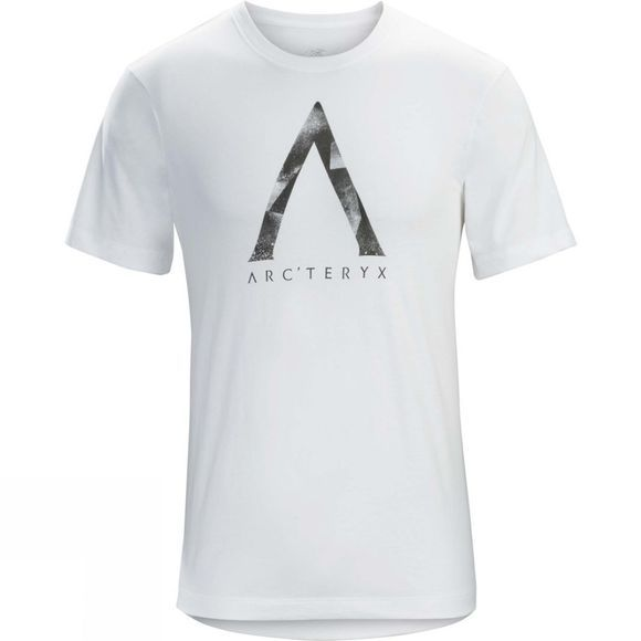 Arc'teryx Mens Megalith Short Sleeve T-Shirt White