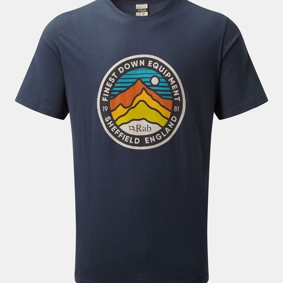 Rab Stance 3 Peaks SS T-shirt Deep Ink