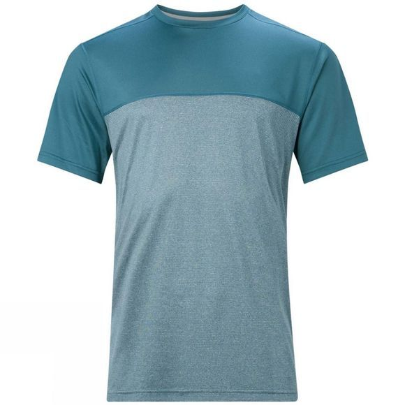 Berghaus Mens Voyager Tech Tee Short Sleeve Crew  Smoke Signal