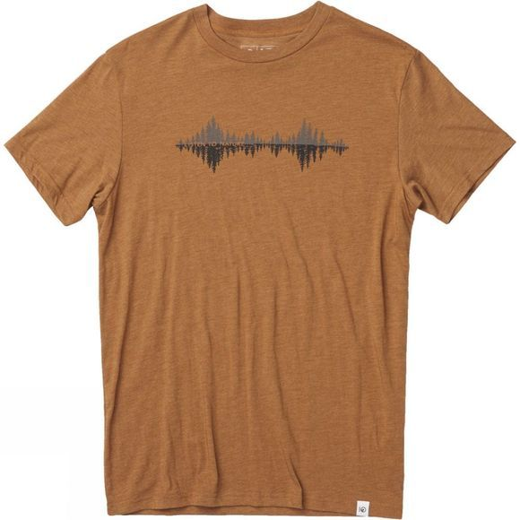 Tentree Mens Listen Tee Brown Sugar