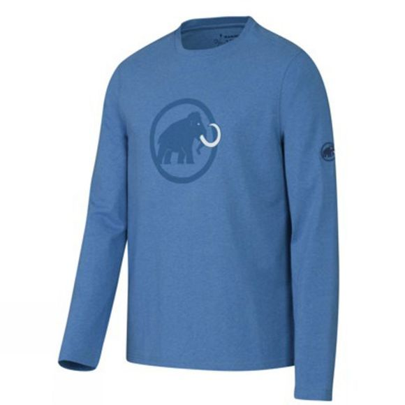 Men's Mammut Logo Long Sleeve Tee
