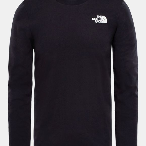 The North Face Mens Long Sleeve Easy Tee  TNF Black