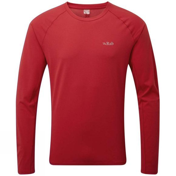 Rab Mens Force LS Tee Cayenne