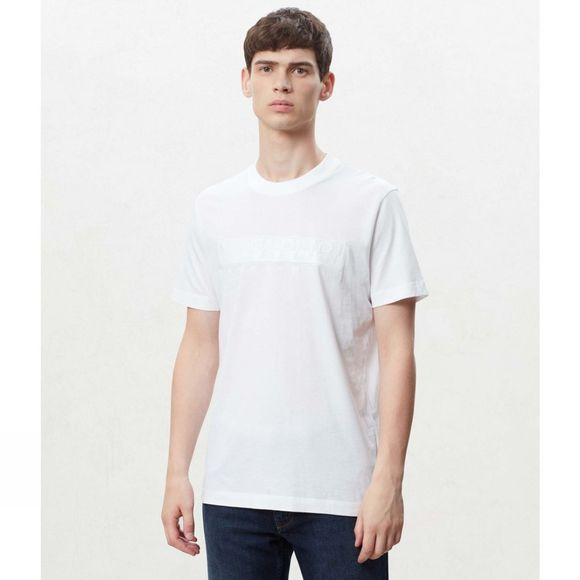 Napapijri Mens Serber Tee Bright White