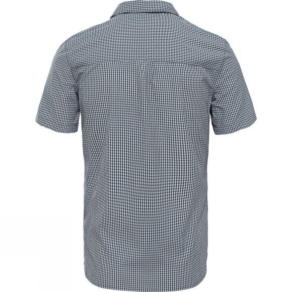 The North Face Men's Hypress Short Sleeve Shirt Asphalt Grey