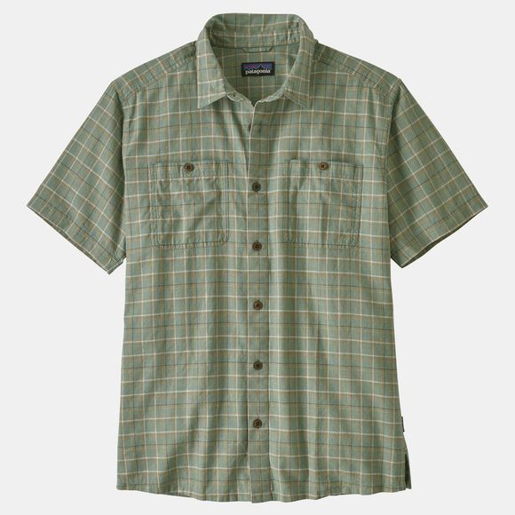 Patagonia Men's Back Step Shirt Harvester: Ellwood Green
