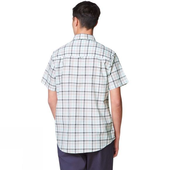 Craghoppers Mens Holbrook Short Sleeve Shirt Dark Grey