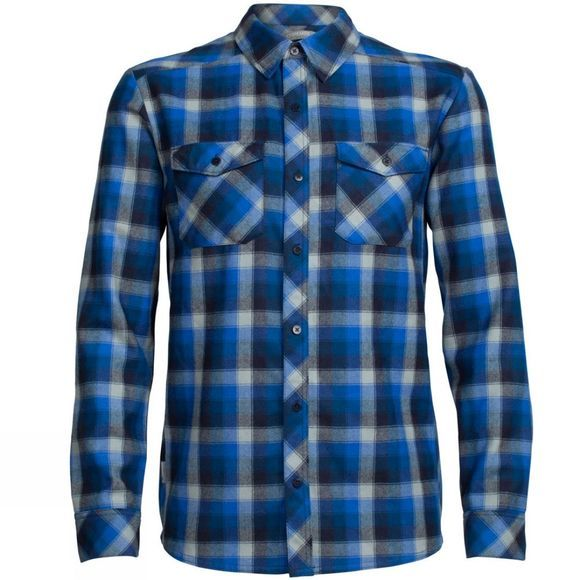 Men's Lodge Long Sleeve Flannel Shirt