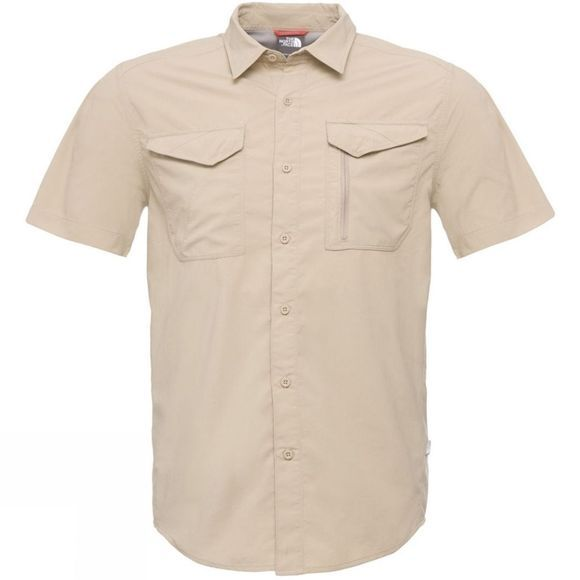 The North Face Men's Sequoia Short Sleeve Shirt Beige