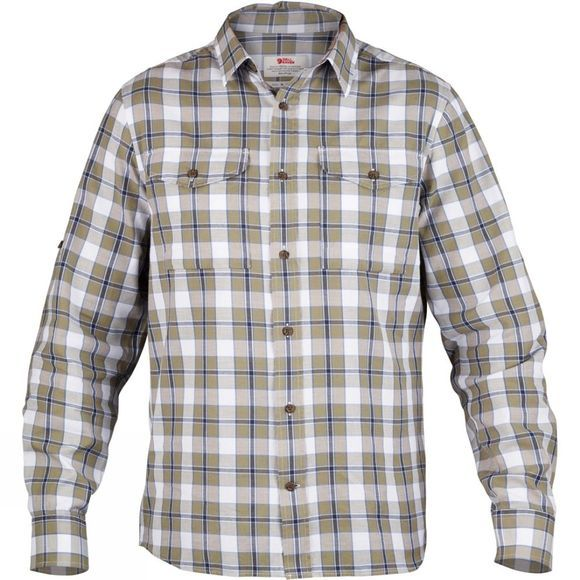 Fjallraven Men's Sarek Long Sleeve Flannel Shirt Savanna