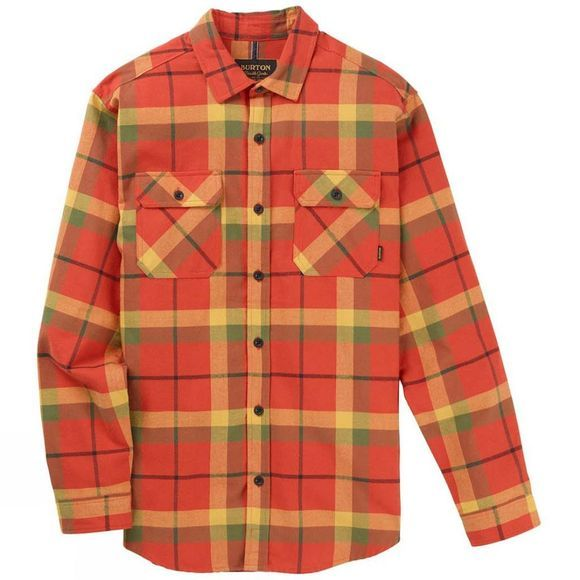 Burton Men's Brighton Flannel Tandori Tunnel Plaid