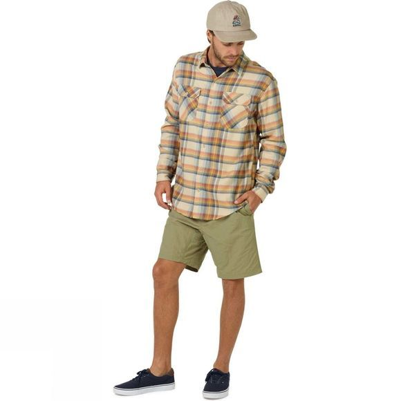 Burton Men's Brighton Flannel Safari Stella Plaid