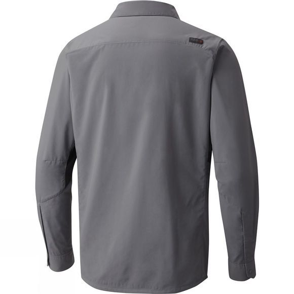 Mountain Hardwear Mens Canyon Pro Long Sleeve Shirt Manta Grey
