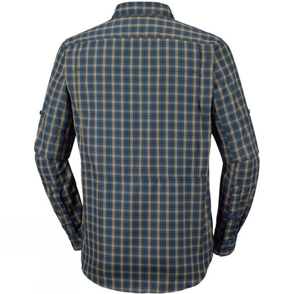 Columbia Mens Silver Ridge 2.0 Plaid L/S Shirt Carbon Gingham