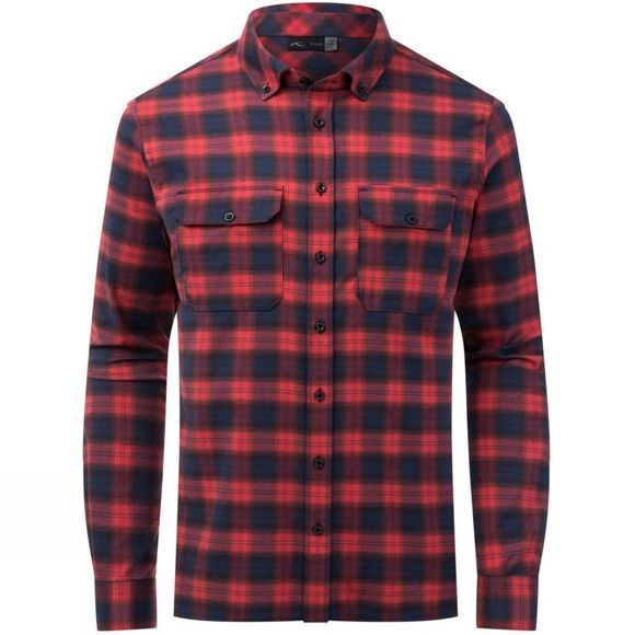 KJUS Mens Macun Shirt Currant Red
