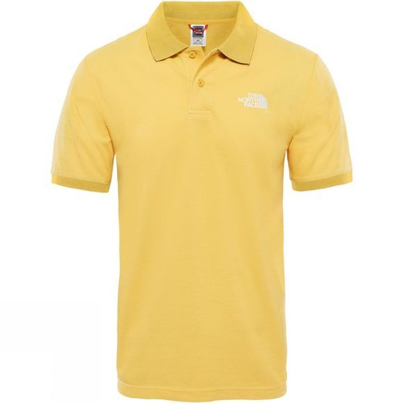 The North Face Mens Polo Piquet TNF Yellow