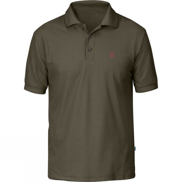 Fjallraven Mens Crowley Piqué Shirt Tarmac