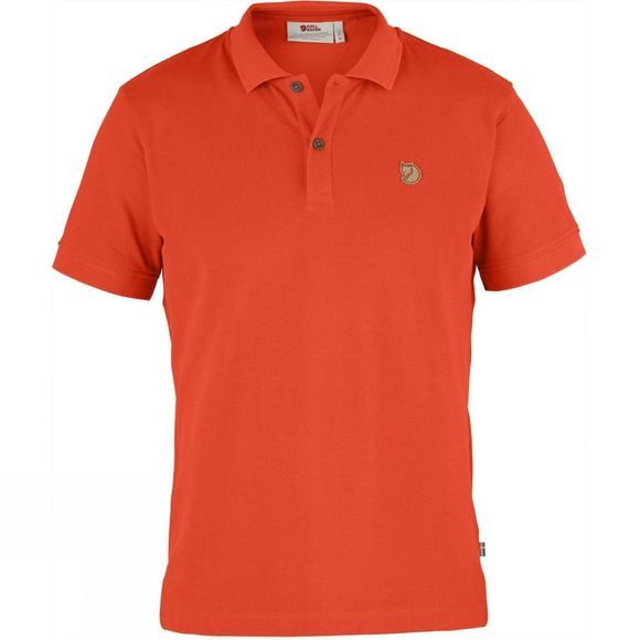 Fjallraven Men's Övik Polo Shirt Flame Orange