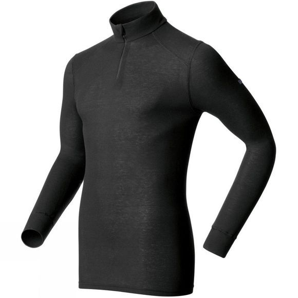 Odlo Men's Original Warm Half Zip Black