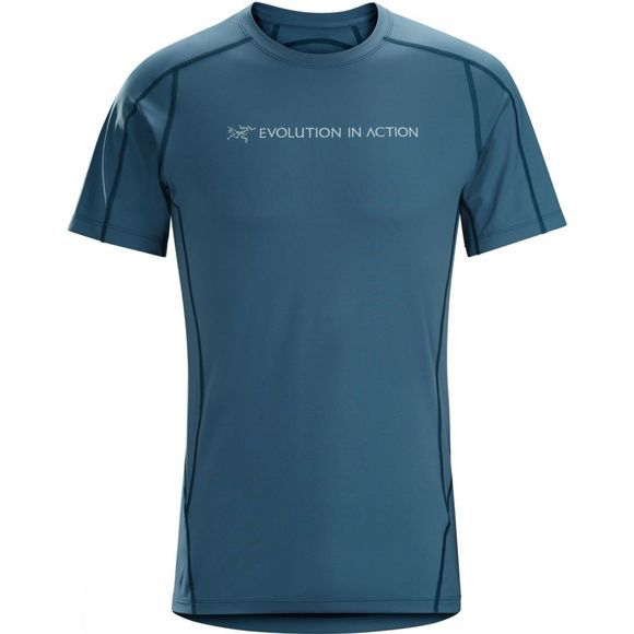 Mens Phasic Evolution Crew Short Sleeve