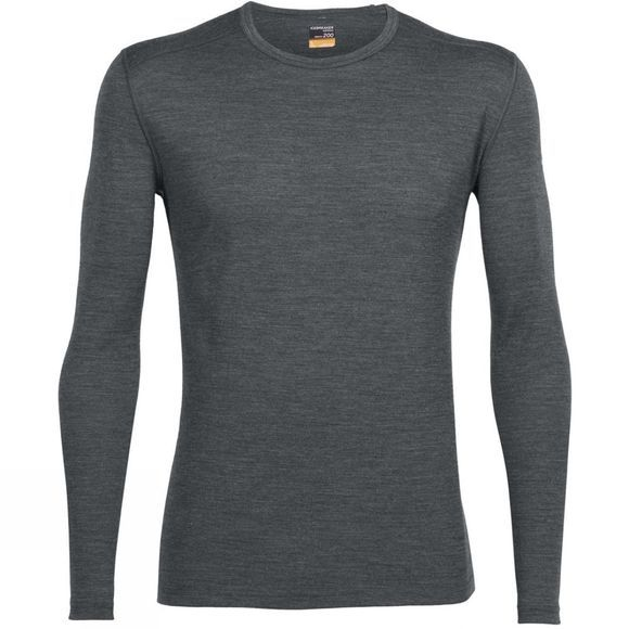 Men's Oasis 200 Long Sleeve Crewe