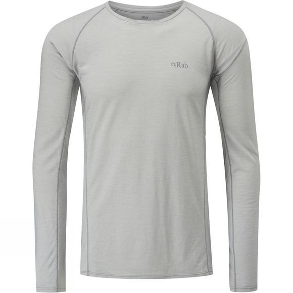Rab Mens Merino+ 120 Long Sleeve Tee Dark Mirage
