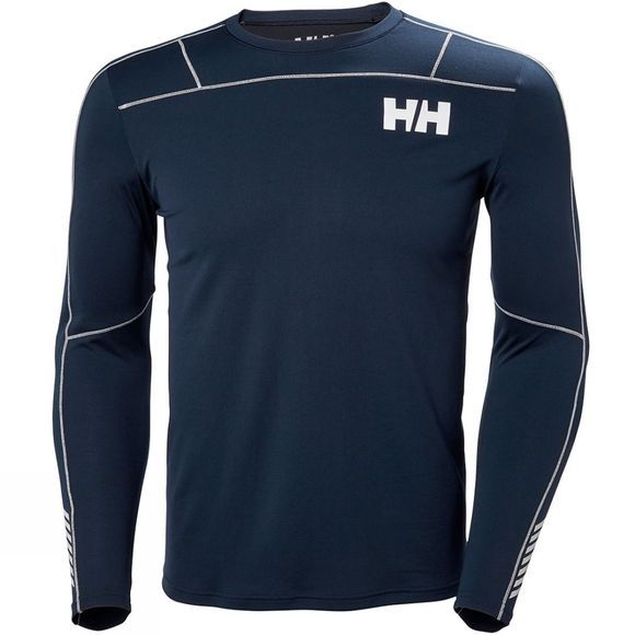 Helly Hansen Mens HH Lifa Active Light LS Top Navy