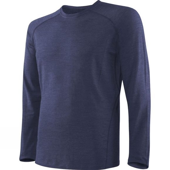 Saxx Mens Blacksheep 2.0 Long Sleeve Top Navy Heather
