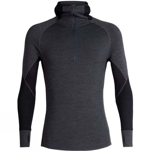 Mens 260 Zone Long Sleeve Half Zip Hoodie