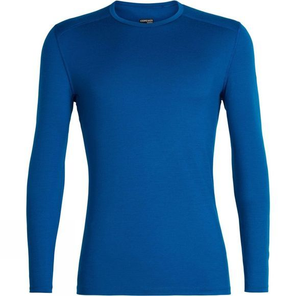 Icebreaker Mens 200 Oasis Long Sleeve Crewe Top Isle