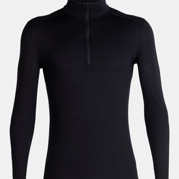 Mens 200 Oasis Long Sleeve Half Zip Top