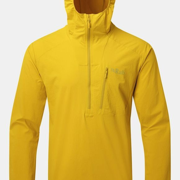 Rab Mens Borealis Pull-On Top Sulphur
