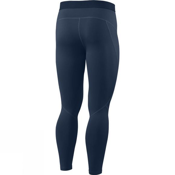 Saxx Mens Thermo-Flyte Tights with Fly Navy