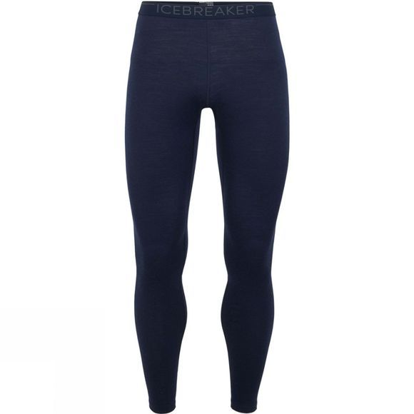 Icebreaker Mens 200 Oasis Legging Tights Midnight Navy