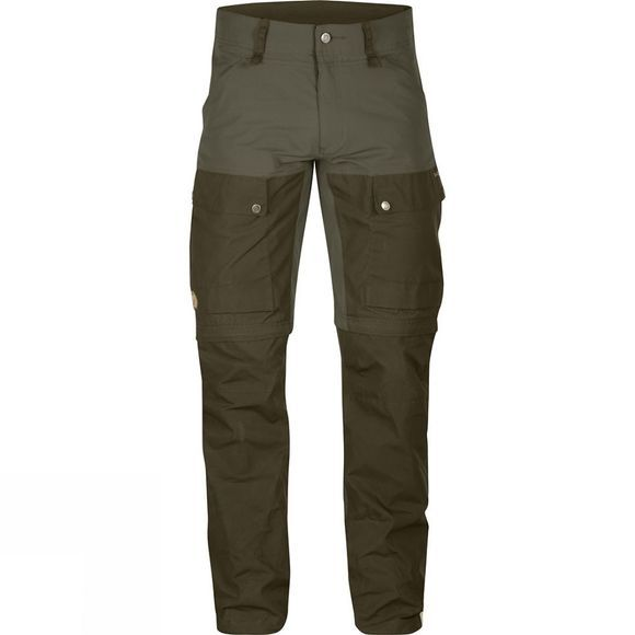 Fjallraven Men's Keb Gaiter Trousers Tarmac/Dark Olive