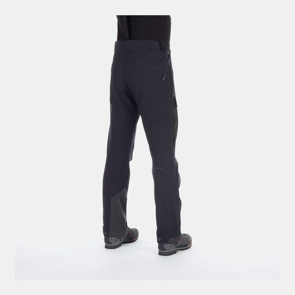 Mammut Base Jump Touring Softshell Pants Black-Phantom