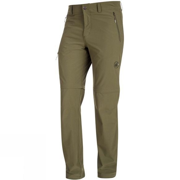 Mammut Mens Runbold Zip Off Pants Iguana